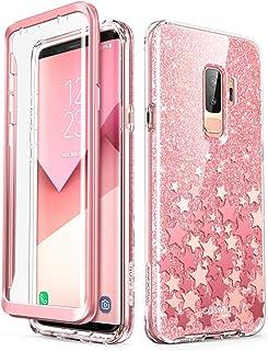i-Blason Cosmo Full-Body Glitter Clear Bumper Case for Galaxy S9 Plus 2018 Release Galaxy-S9Plus-CosmoV2-SP-Pink