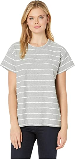 Your New Favorite Tee in Scalloped Jersey