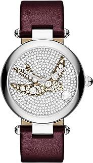 Marc Jacobs Women's Dotty Oxblood Leather Watch - MJ1488
