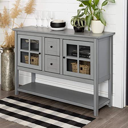 SOLD Turquoise buffet sideboard entertainment storage unit