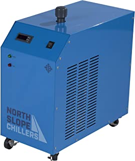 North Slope Chillers - NSC0250-FROST 1/4 Ton/HP Light-Duty Portable Industrial Glycol Chiller, 1.5 Gallon Reservoir Capacity, 3.5 GPM Max