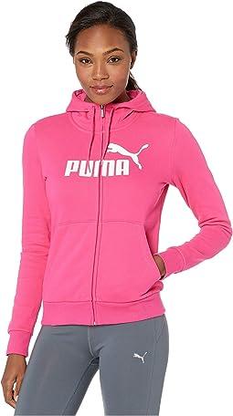 Essential Logo Fleece Hooded Jacket