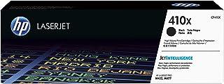 HP 410X | CF410X | Toner Cartridge | Works with HP Color LaserJet Pro M452 Series, M377dw, MFP 477 Series | Black | High Y...