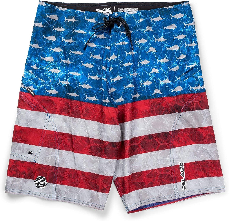 Super beauty product restock quality top PELAGIC Sharkskin Americamo Shorts Fishing Max 58% OFF
