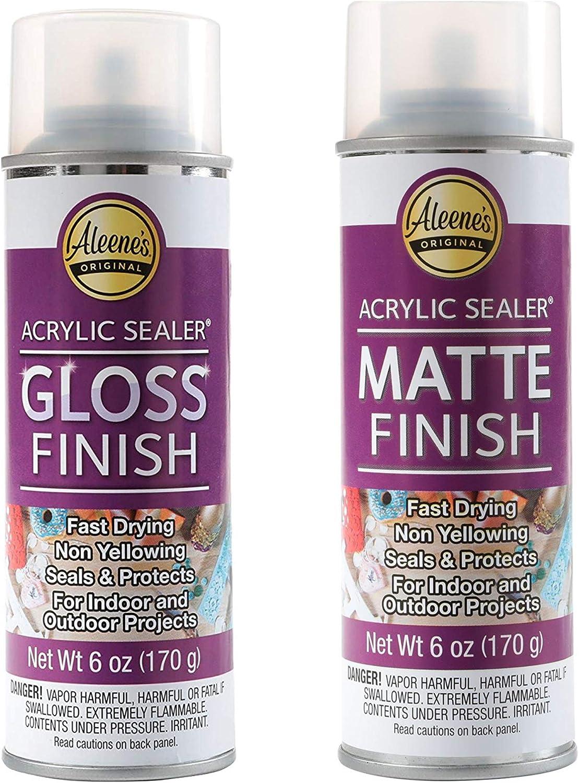 Aleene's Spray 6oz Acrylic Gloss Matte Free Shipping Cheap Bargain Gift Miami Mall and Sealer