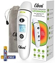 【2020 Upgrade】Thermometer for Fever - Forehead and Ear Thermometer - Baby Thermometer for Kids and Adult - Infrared Digital Thermometer Medical - Body Surface Room - Accurate Easy to Use °F °C