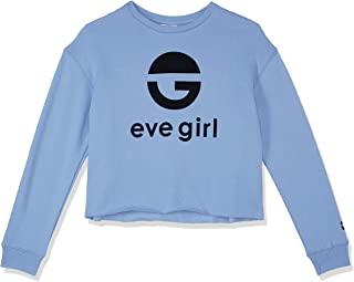 Eve Girl (8-16) Kids Logo Crew