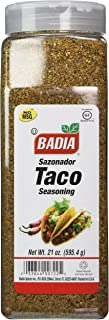 Badia Gluten Free Taco Seasoning Premium Quality 21OZ (595.4 G)