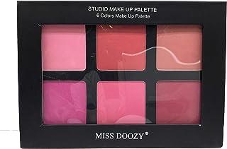 Miss Doozy 6 Colors Make Up Blusher Palette - 02