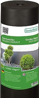 comprar comparacion GardenMate Rollo de Malla geotextil prémium de 1 m x 50 m y 150 g/m² – Geotextil extrarresistente para Malas Hierbas – Alt...