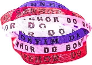 FLEEPS Brazilets, 8-Pack - Traditional Brazilian Bracelets - Tie-On Wish Bracelets - Bahia Bands Spiritual, Special or Friendship Bracelets {BE My Valentine}