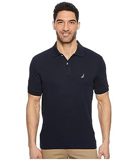 Short Sleeve Solid Interlock Polo