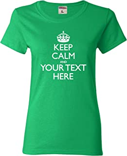 keep calm and chive on womens shirt