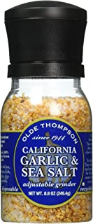 Olde Thompson California Garlic & Sea Salt, 8.8-Ounce Grinders (Pack of 2)