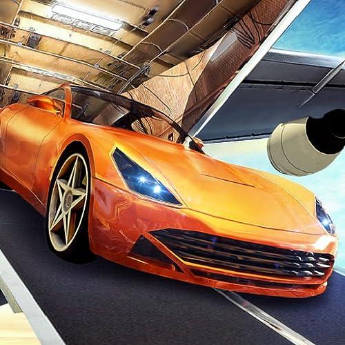Cargo Pilot Car Transporter Rennwagen im Flugzeug Simulator 3D: Stadt Flug Transport furious Autos Simulation Abenteuer Spiel kostenlos für Kinder 2018