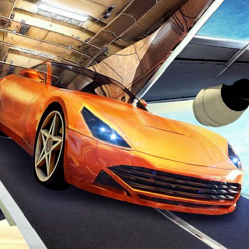 Cargo Pilot Car Transporter Voitures de course dans le simulateur d'avion 3D: Transport de ville vol Fury Cars Simulation Jeu d'aventure gratuit pour les enfants 2018