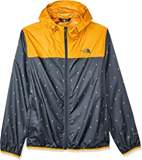 The North Face Men's Print Cyclone Hoodie, Citrine Yellow Campfire Print/Citrine Yellow