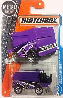 Matchbox 2017 Zamboni Ice Resurfacing Machine 13/125, Purple