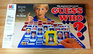 Guess Who? The Mystery Face Game 1987
