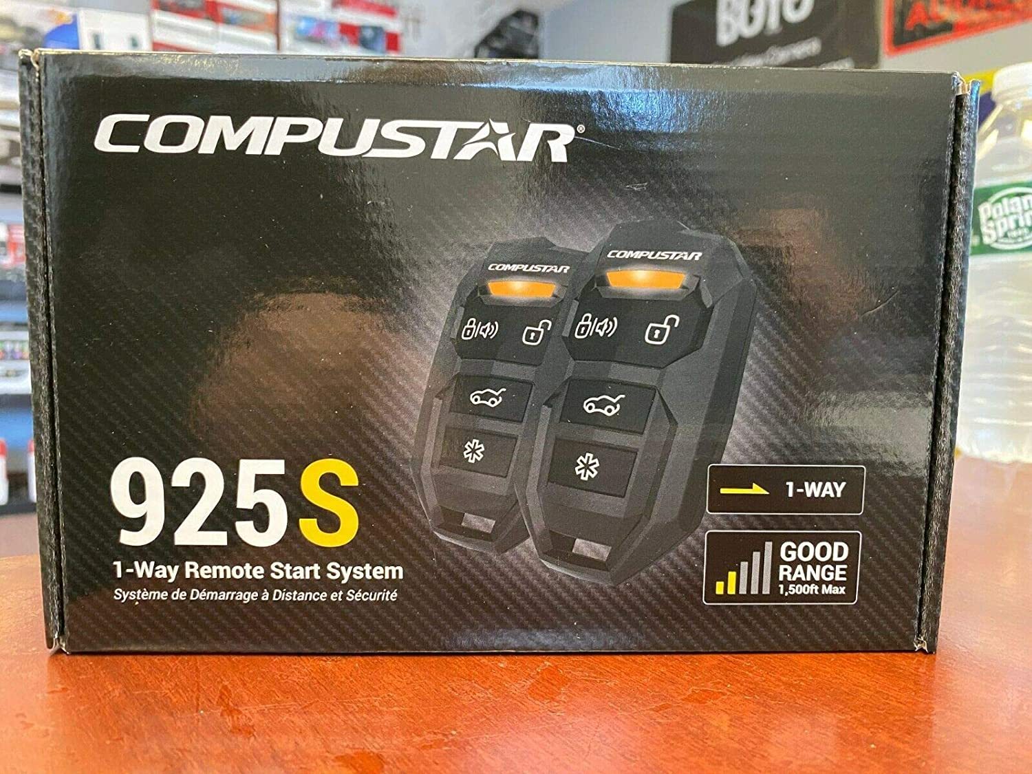 Compustar CS925S 4-Button 1 Way Japan's Boston Mall largest assortment Remote to 1500' Start System up