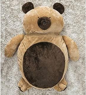 Puff Gigante Para Dormir Pelúcia Urso Médio Com 1 Peças