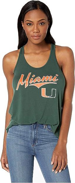 Miami Hurricanes Swing Tank Top