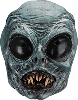 Hautton Halloween Mask, Men's Creepy Scary Clown Mask Latex Mask for Halloween Costume Party