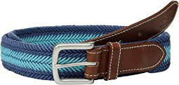 Vineyard Vines Prep Stripe Waxed Cord Belt