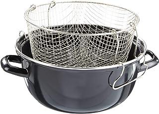 Karl Kruger - Olla de papas fritas, negro, 24 cm