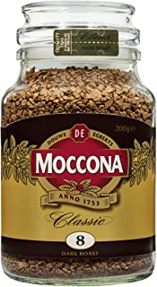 Moccona Classic Dark Roast Freeze Dried, 200 g