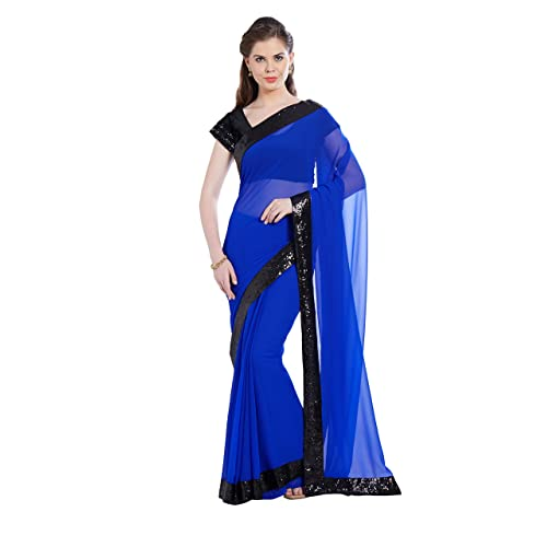 8fb0d31926 Royal Blue Saree: Buy Royal Blue Saree Online at Best Prices in ...