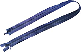Vodeus #5 Long Colorful Nylon Two Way Separating Jacket Zippers 80cm and 100cm