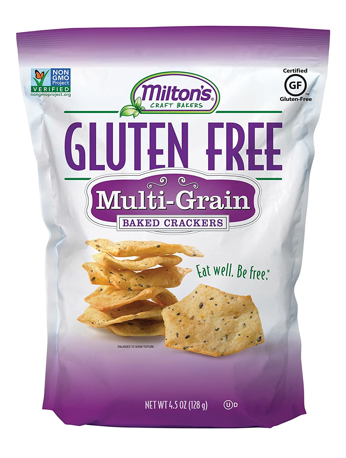 Topics on TV Milton's Gluten Free Baked OFFicial mail order Crackers Multi-Grain Ounce 4.5 Bag