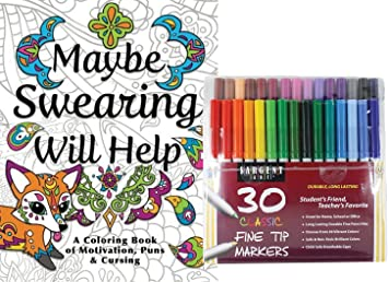 This Epic Adult Coloring Book Set