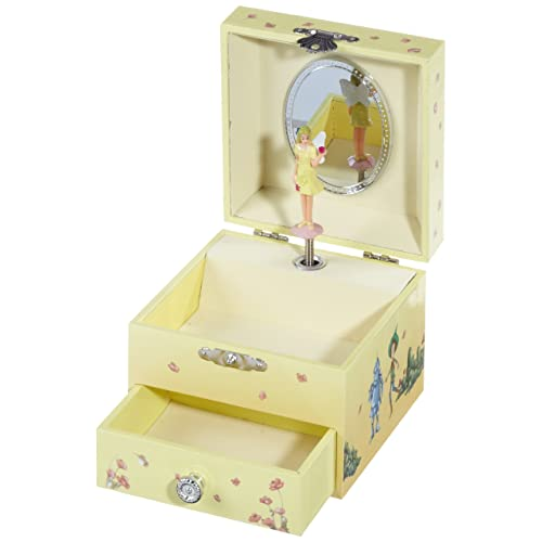 Musicboxworld Jewellery Box with Wizard Of Oz Melody