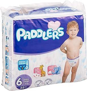 Paddlers X-Large 6 Beden 88 Adet (15+ Kg) Aylık Paket Bebek Bezi, Beyaz