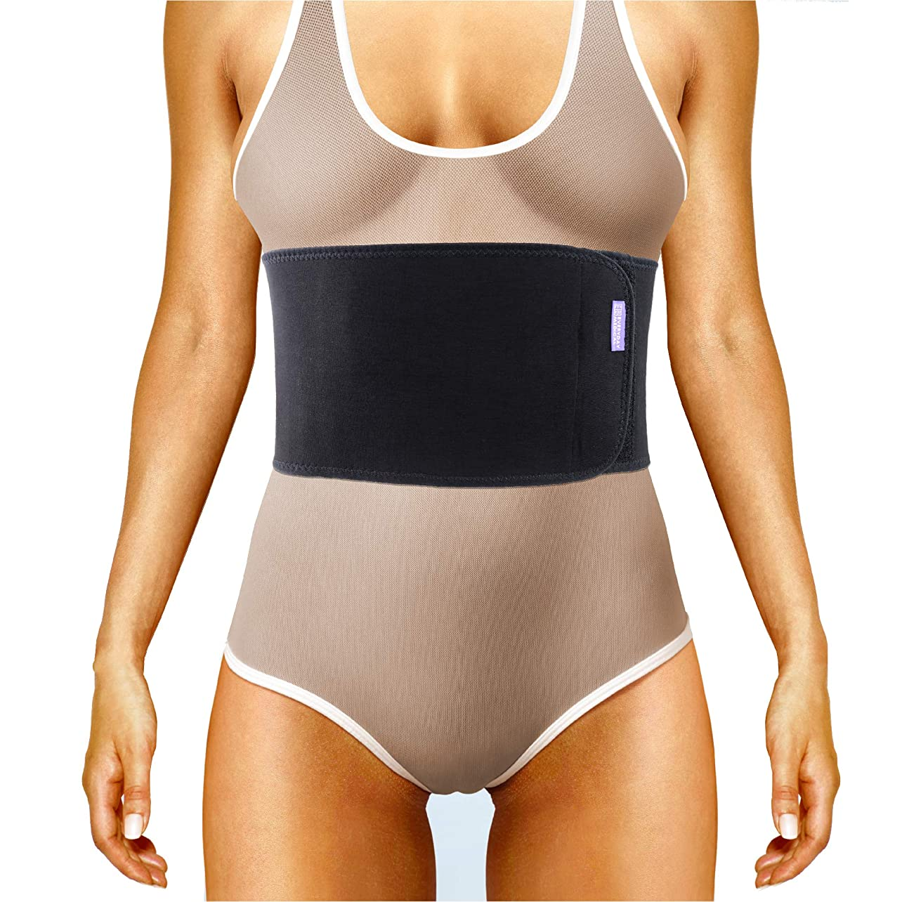 Everyday Medical Broken Rib Brace for Men and Women - Bamboo Charcoal Rib Support Compression Brace - accelerates The Healing of Cracked, Dislocated, Fractured and Post-Surgery Ribs - XLarge aoassbwlqkq79