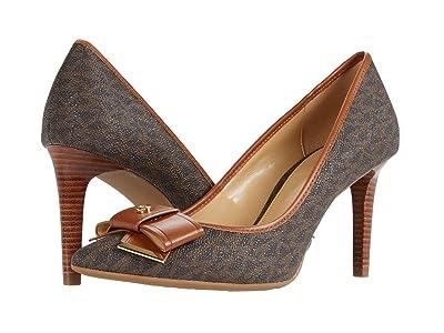 MICHAEL Michael Kors Belle Flex Pump (Brown/Luggage) Women
