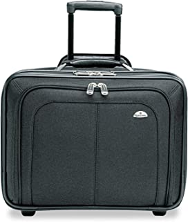 Samsonite 110211041 Mobile Office Notebook Case, Nylon, 17-1/2 x 9 x 14, Black