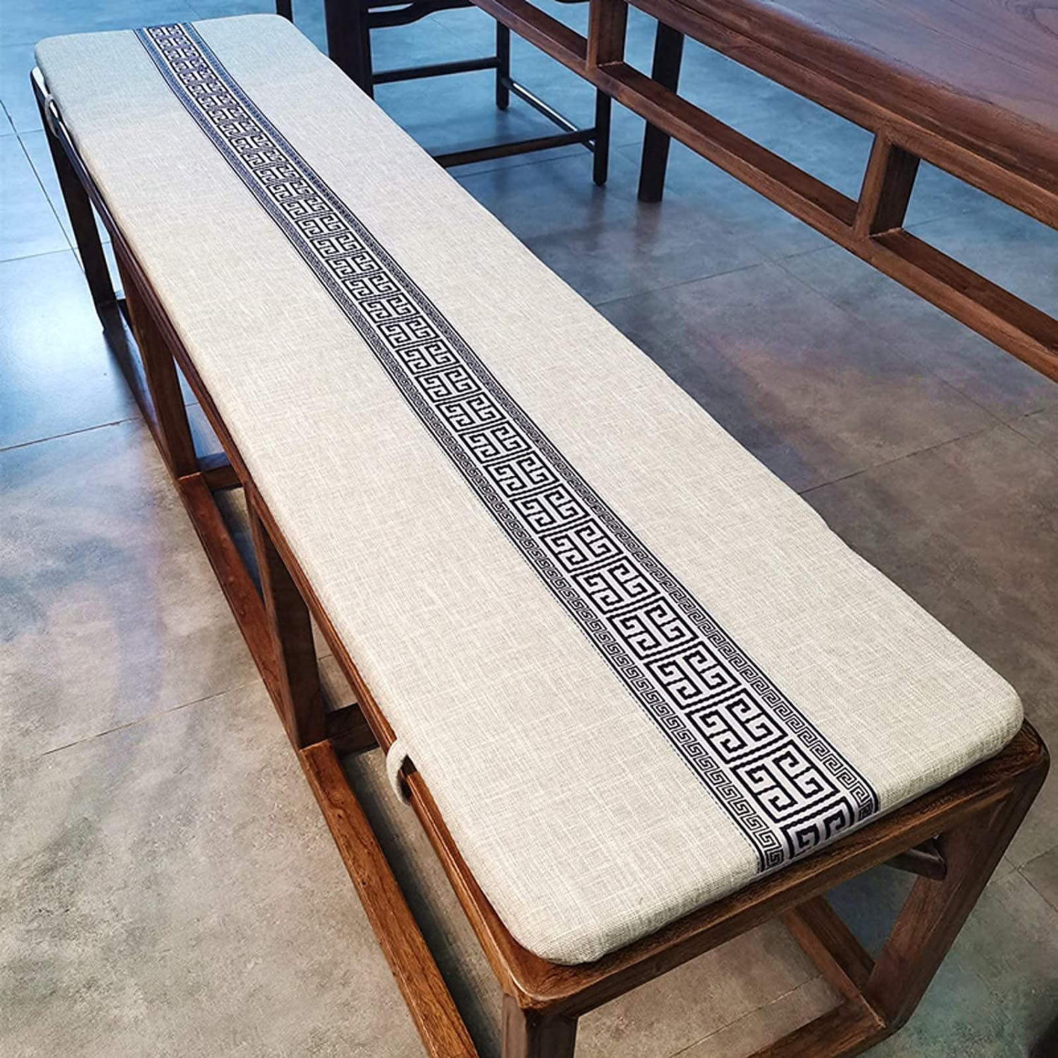 CJCSM Indoor San Diego Mall and Outdoor Non-Slip Limited price sale Thick Cushi Bench Cushion Foam