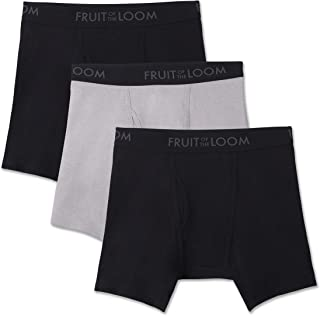 Fruit of the Loom Men's Breathable Boxer Brief Multipack