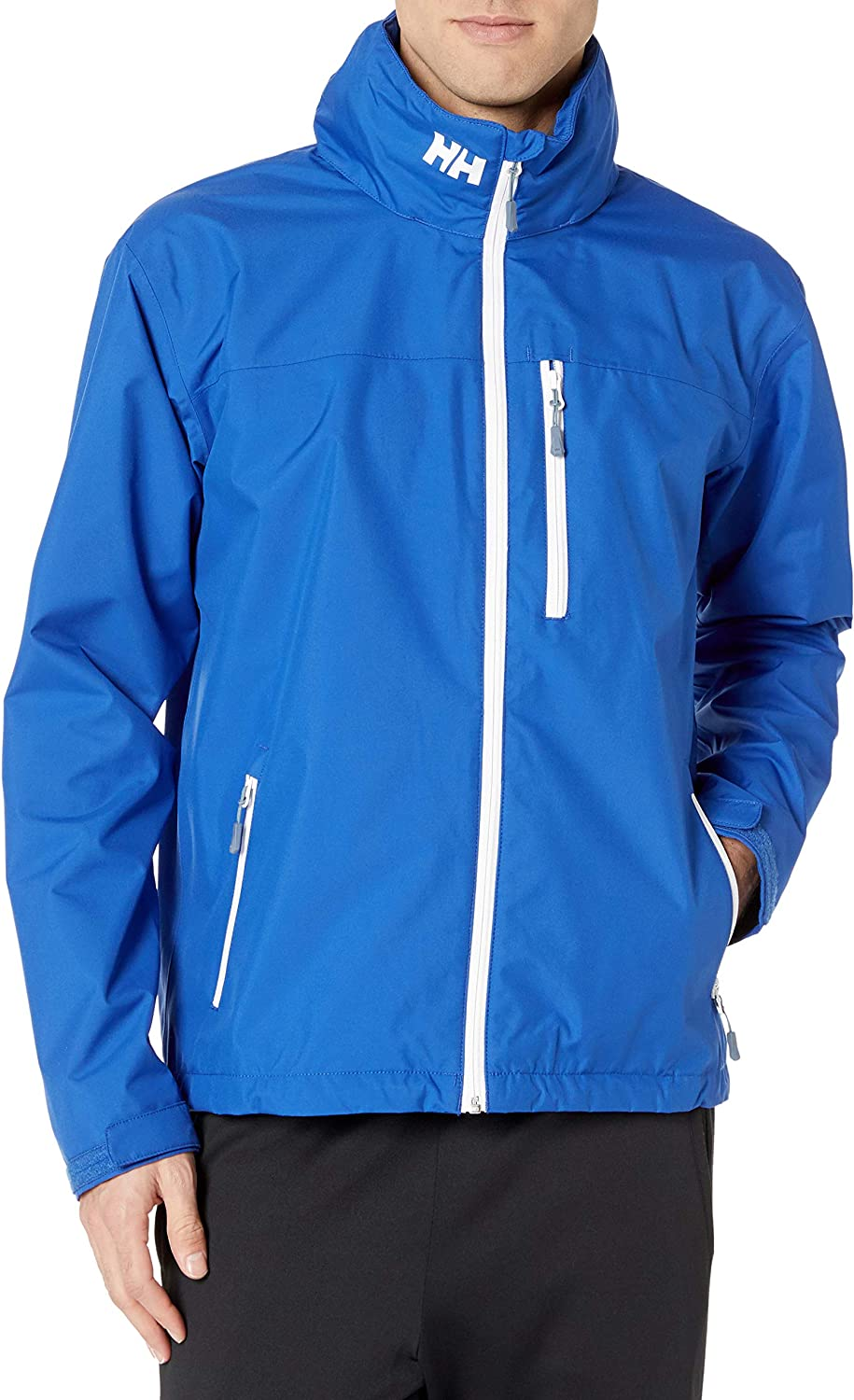 Helly-Hansen Mens Crew Hooded Waterproof Sailing Jacket: Clothing