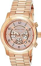 Michael Kors Men's Runway Rose Gold-Tone Watch MK8096