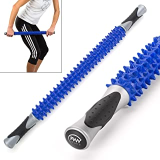 FWY Muscle Roller Massage Stick for Runners, Athletes, Therapy or Just Relaxation, Great for Back, Foot & Deep Tissue Massage, 23