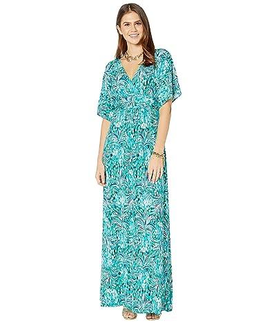 Lilly Pulitzer Parigi Maxi Dress (Emerald Isle Pineapple of My Eye) Women