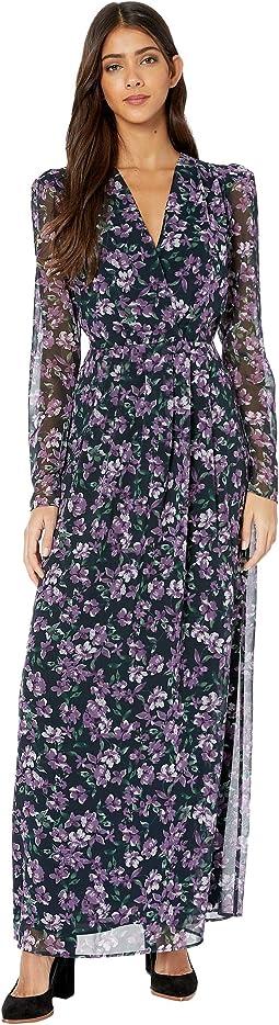 Aubergine Jasmine Floral