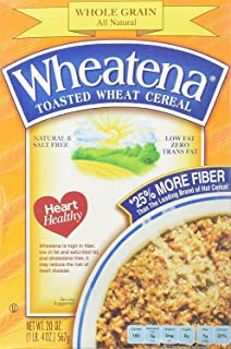 Wheatena Toasted Wheat Cereal, 20oz Boxes 2 Pack