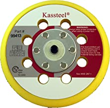 1 Pad Sungold Abrasives Kassteel 99415 6 by No Hole Back-up Pad with 16mm Thick 5//16-24 Threaded Hub Hook /& Loop Sanding Discs