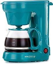 Holstein Housewares HH-0914701E 5-Cup Coffee Maker, Teal