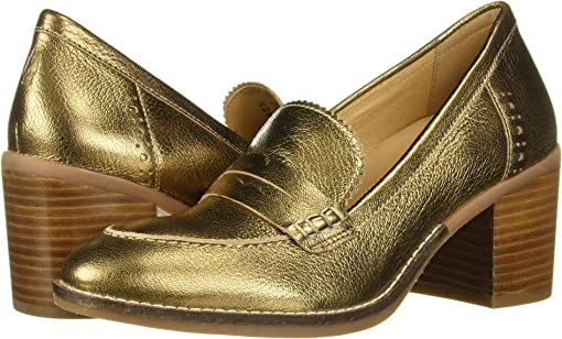 Antique Gold Leather